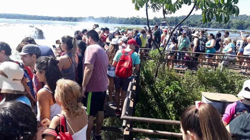 Cataratas cerró un excelente fin de semana largo, con 95% de ocupación