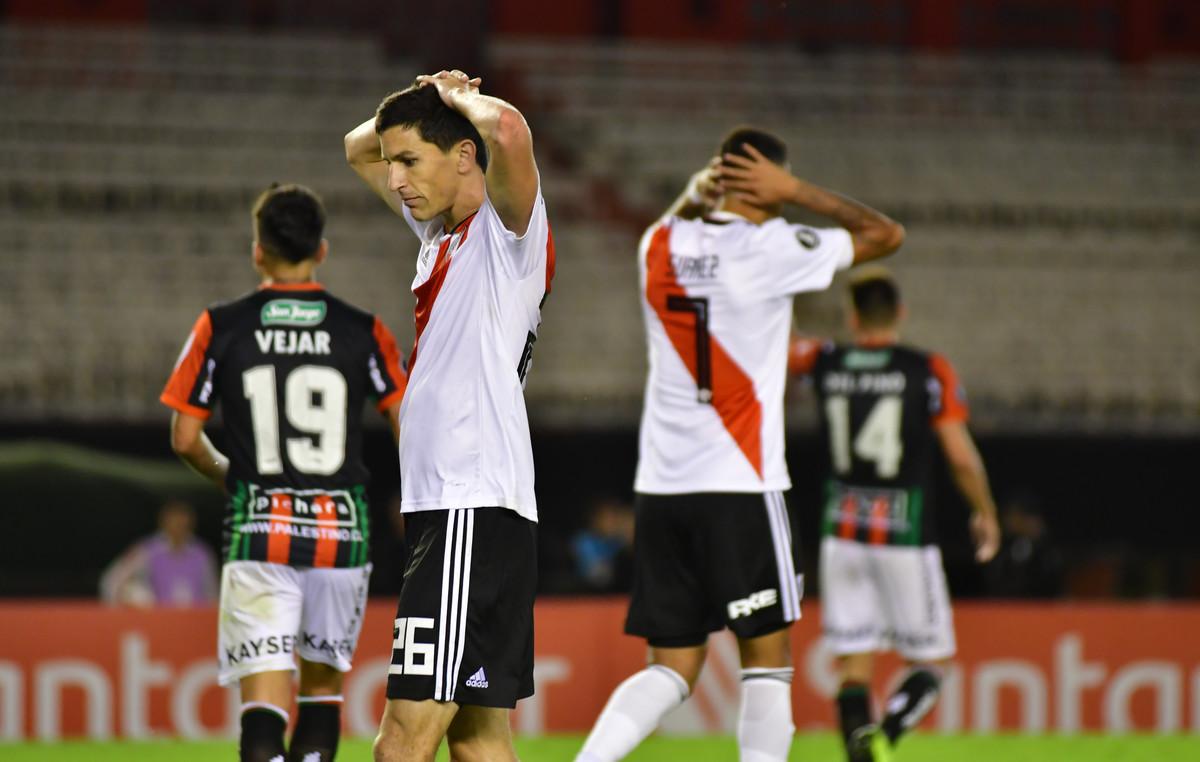 Copa Libertadores: en un Monumental sin público, River igualó con Palestino