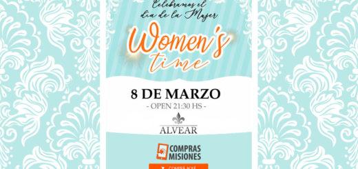 Festejá con tus amigas el Día de la Mujer en Alvear Salones...Están preparando una fiesta para que se diviertan toda la noche...Reservá aquí las entradas...