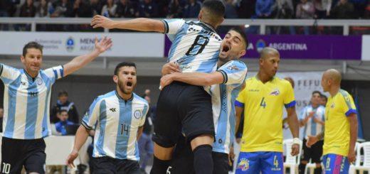 #MisionesEsFutsal: el Seleccionado Argentino llega a la tierra colorada