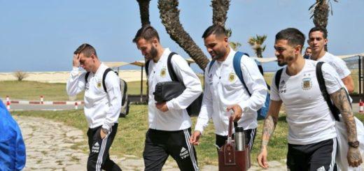 La Selección Argentina ya está en Tánger para enfrentar mañana a Marruecos