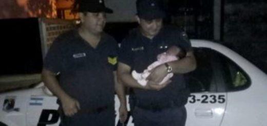 Posadas: policías le hicieron RCP a una beba y le salvaron la vida