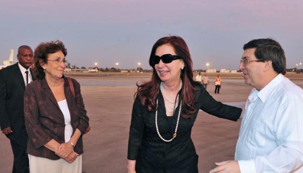 Cristina Kirchner llegó a Cuba y se encuentra junto a un estricto equipo de seguridad