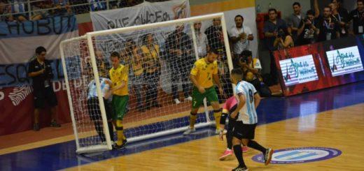 Con goles del misionero Sandro Antiveros, Argentina goleó en el inicio del #MundialDeFutsal