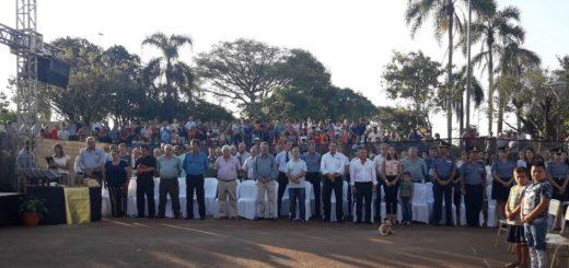 Con mucho público y gran emoción, Campo Grande celebró su 73° aniversario
