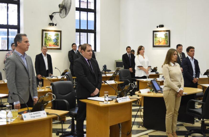 El Concejo Deliberante de Posadas aprobó la designación de Ángel Giudici como Escribano de Gobierno municipal