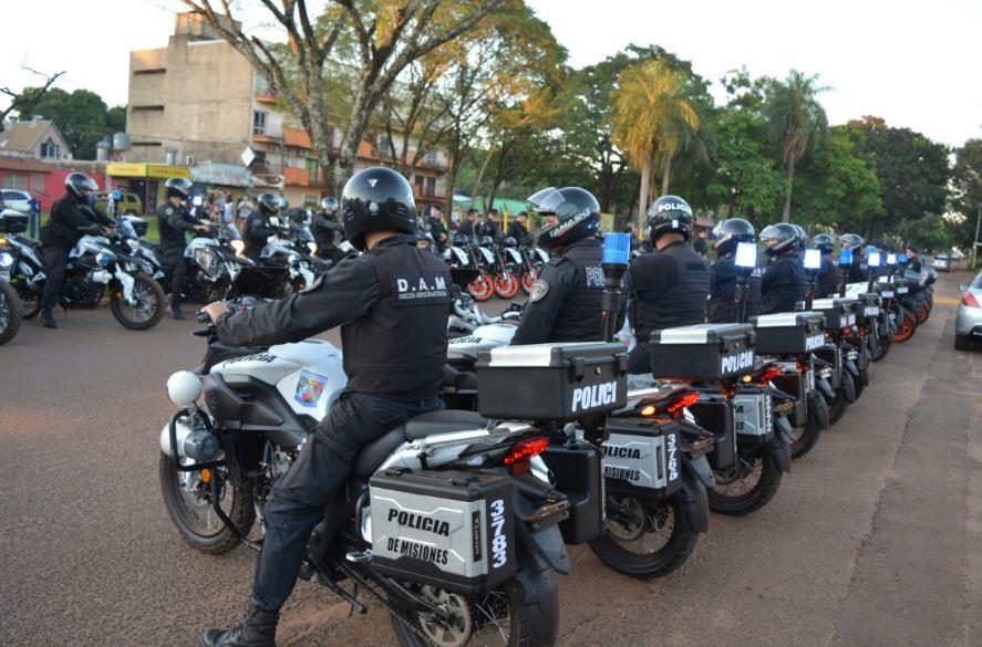 Posadas: con 500 efectivos, la Policía inició nuevos Operativos de Alto Impacto