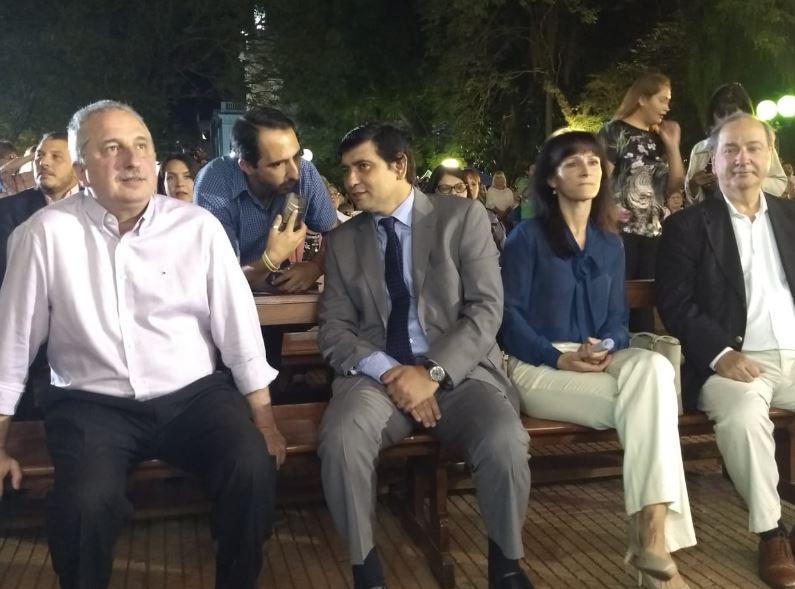 Hugo Passalacqua y Joaquín Losada estuvieron presentes en las celebraciones por el Día de San José