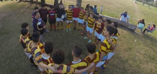 El Tacurú arranca a pleno la temporada de rugby infantil