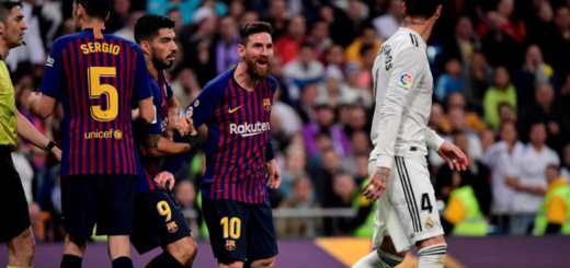 Así fue el fuerte cruce entre Lionel Messi y Sergio Ramos en el clásico de España