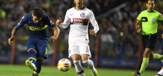 Superliga: Boca goleó en la Bombonera y hundió a San Lorenzo