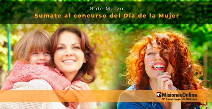 Enterate quiénes son los ganadores del Concurso por el Día de la Mujer de Misiones Online