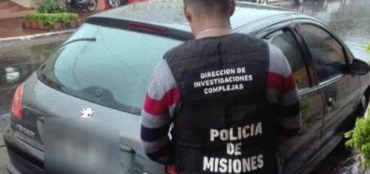 Posadas: en dos procedimientos la Policía recuperó un automóvil robado y detuvo a un hombre que intentó robar en una casa