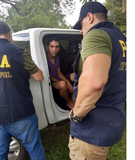 Santo Pipó: policías detuvieron a prófugo acusado de narcotráfico