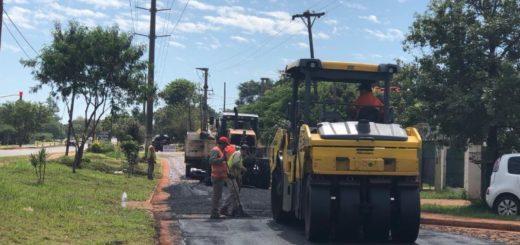Posadas: Vialidad Provincial lleva a cabo obras de infraestructuras urbanas y avanza con el Plan Avenidas