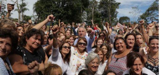 """""""La mujer es el motor y el combustible de la Renovación"""", dijo Passalacqua en la clausura de la jornada de debate al pie de La Cruz de Santa Ana"""