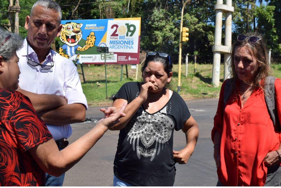 Vecinos de la chacra 43 solicitaron la intervención de la Defensoría del Pueblo, DDHH y Diputados