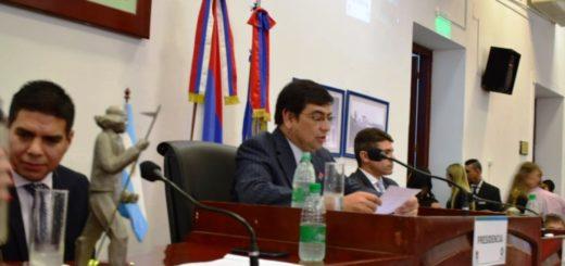 """En el Concejo Deliberante de Posadas, Losada dijo que pese a la crisis económica desde la Renovación """"cumplieron con las promesas de campaña"""""""