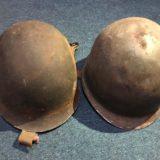 Dos ex combatientes de la Guerra de Malvinas recuperaron sus cascos