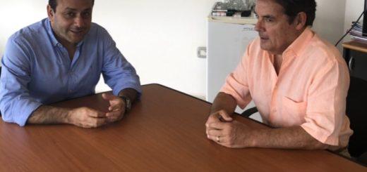 Oscar Herrera Ahuad agradeció a Carlos Rovira y al Frente Renovador el apoyo a su candidatura como gobernador