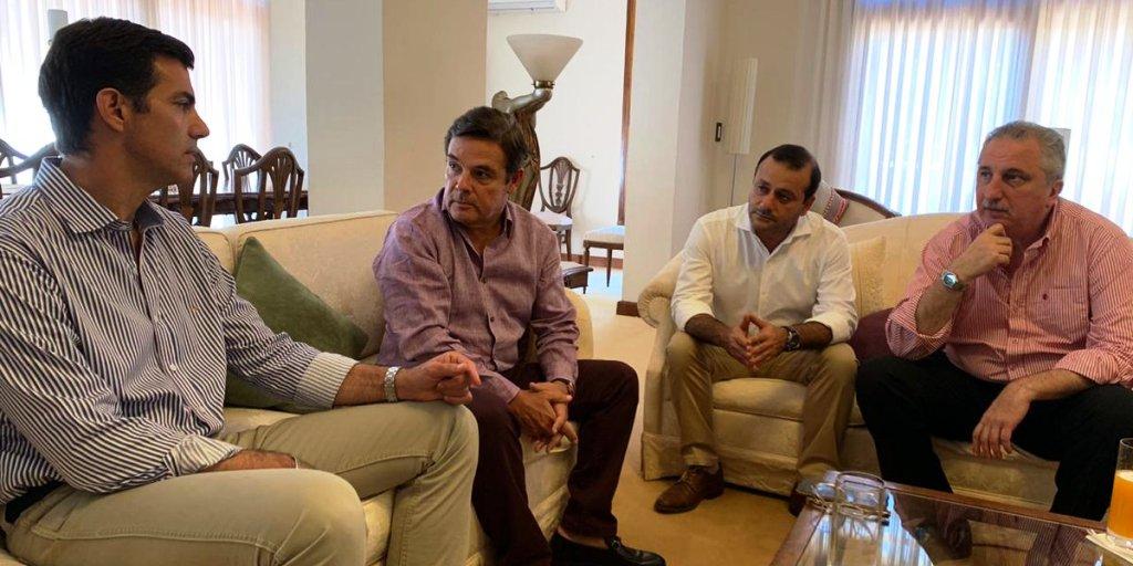 Passalacqua, Urtubey, Rovira y Herrera Ahuad analizaron políticas de crecimiento para Misiones y Salta