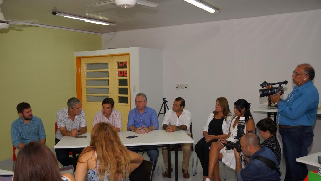 El presidente de la Legislatura inauguró la Escuela Secundaria de Innovación