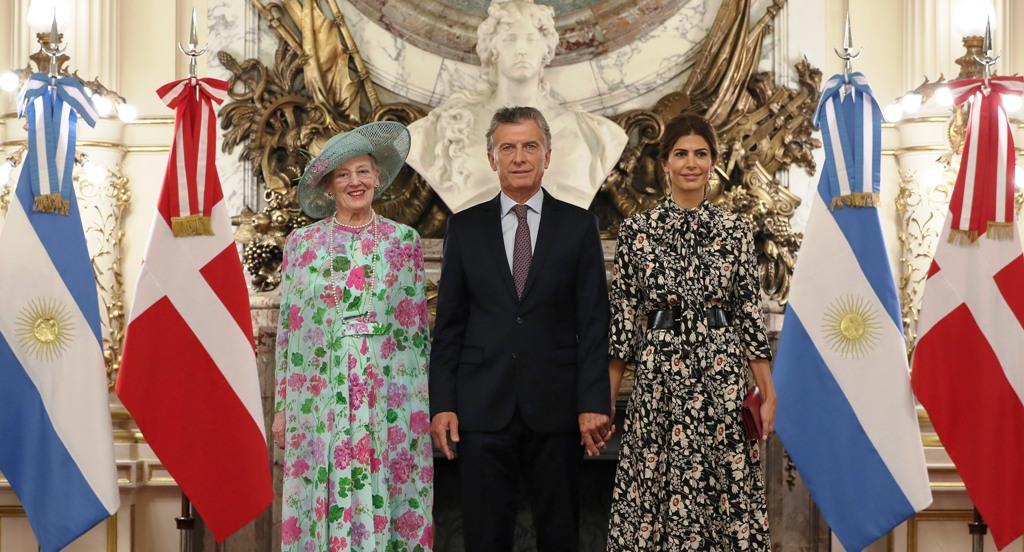 Macri recibió a la reina Margarita II de Dinamarca: «Tenemos economías complementarias y hay mucho para trabajar en conjunto»