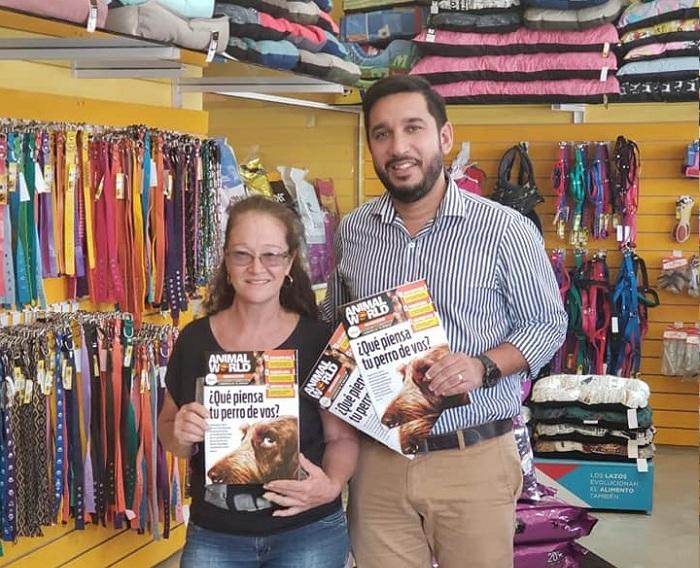 Animal World Magazine: una revista animalera que nació para ayudar