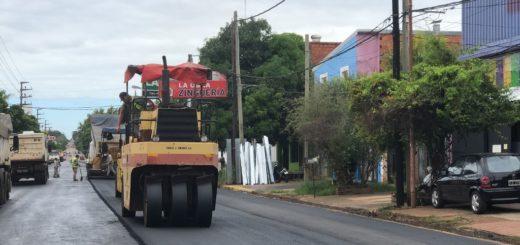 Vialidad Provincial culminó otro tramo de la avenida Santa Catalina de Posadas