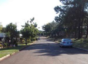 Inauguran pavimento sobre empedrado en Gobernador Gregorio López