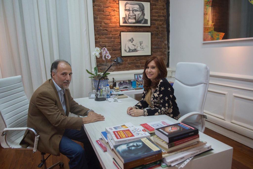 Gortari se reunió con Cristina Fernández