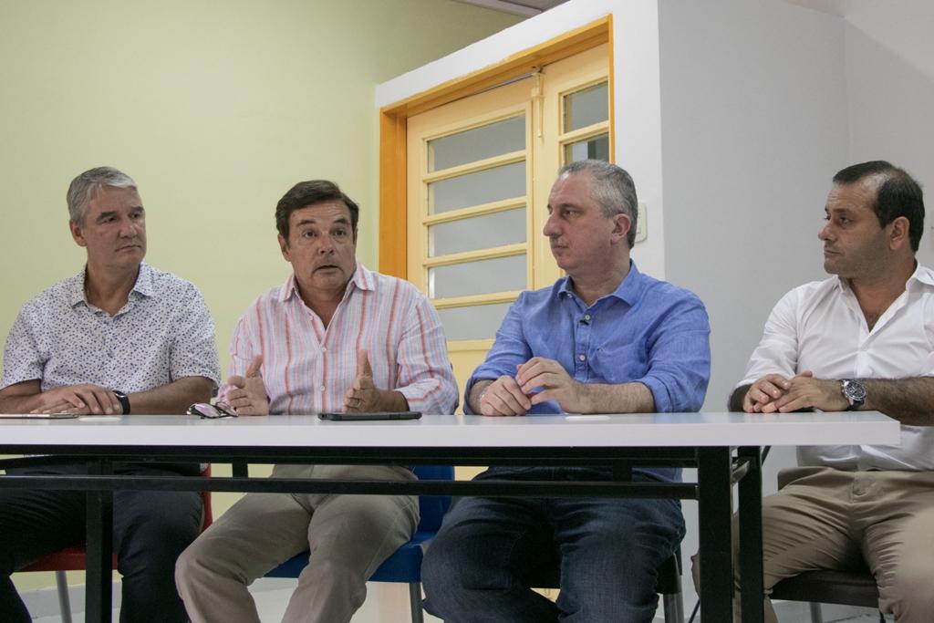 Passalacqua y Rovira inauguraron la Escuela Secundaria de Innovación Tecnológica