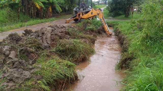 Posadas: la Municipalidad intensificó trabajos en las zonas más afectadas por el temporal