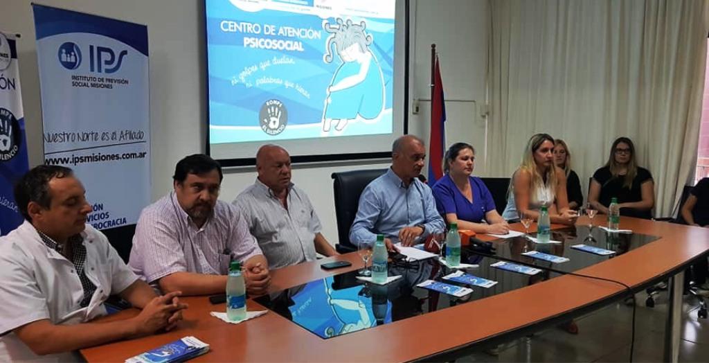 En el IPS presentaron los talleres interinstitucionales sobre violencia de género
