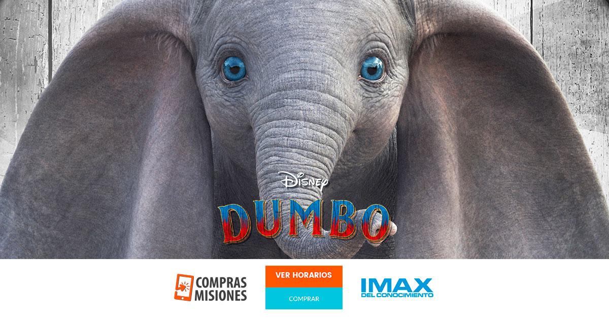 Dumbo y circo en el IMAX del Conocimiento…Ingresá aquí y adquirí las entradas por Internet