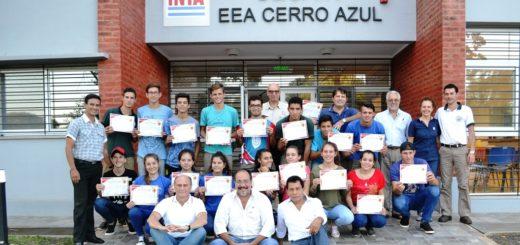 Jóvenes de las Efas e IEA de municipios tabacaleros se capacitaron en cuidado de la chacra, suelo y organización