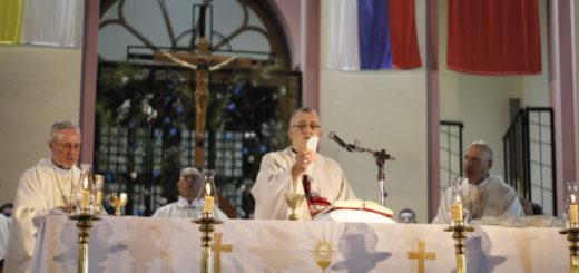 Fiesta Patronal de San José: la feligresía participó masivamente de la Eucaristía y celebró junto a Juan Rubén Martínez sus 25 años como Obispo