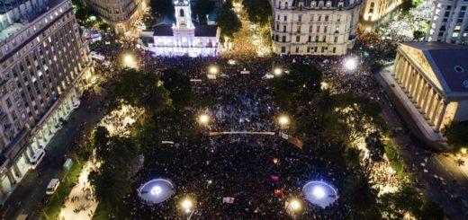 8M: miles de mujeres marcharon en toda la Argentina reclamando por sus derechos