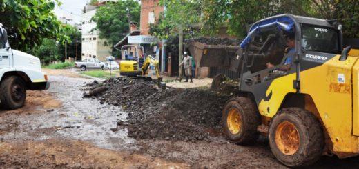 Vialidad ejecuta obras de infraestructura completa en la Chacra 172 de Posadas