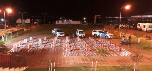 Posadas: Prefectura secuestró un cargamento de 16.000 cartones de cigarrillos valuados en más de $1.500.000