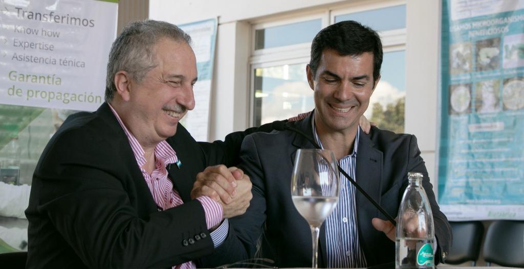 Passalacqua y Urtubey firmaron convenios de cooperación en biotecnología