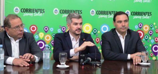 """Marcos Peña en Corrientes: """"Frente a las dificultades hay que poner el cuerpo, pero sobre todo el espíritu y el alma"""""""