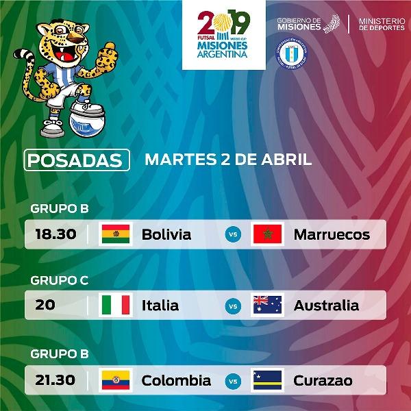 Futsal: la cita mundialista en Misiones ya tiene días y horarios para los partidos