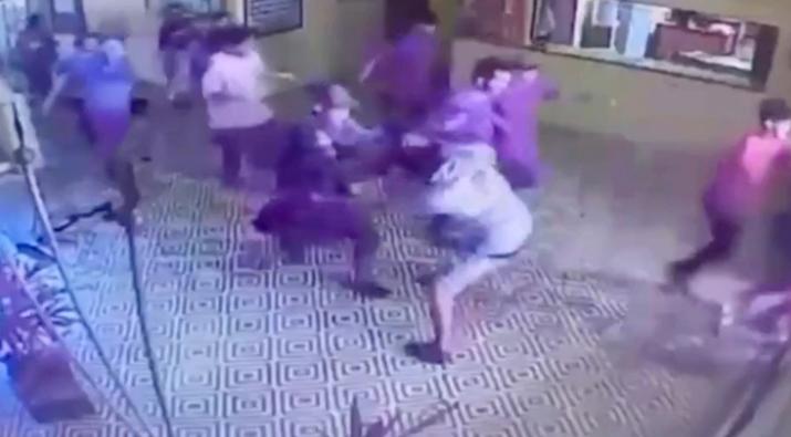 Las cámaras de seguridad registraron el momento de la masacre en la escuela de Brasil
