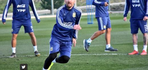 La sorpresa familiar que recibió Lionel Messi en la concentración de la selección argentina