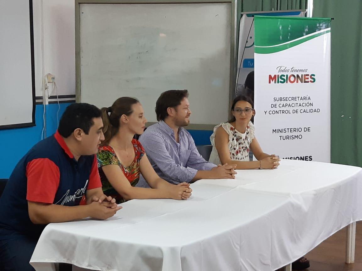 Capacitación y fiscalización para fortalecer la calidad turística en Misiones