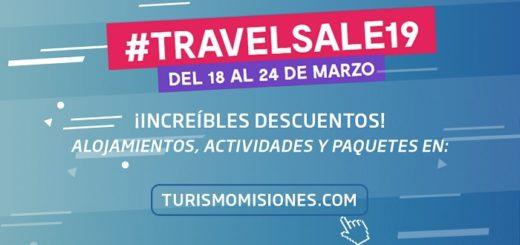Aprovechá los increíbles descuentos que Turismo Misiones tiene para este Travel Sale