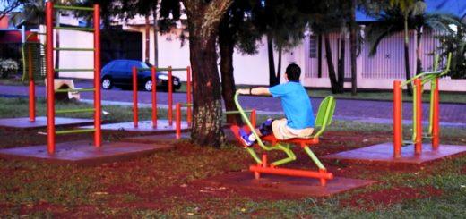 Presupuesto Participativo: culminan obras de mejoramiento en la plaza del barrio Terrazas
