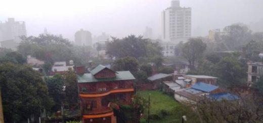 Miércoles fresco con lluvias en toda la provincia