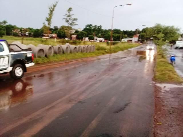 Desde la Municipalidad de Posadas afirman que continúan las  obras en barrios que por lo general son afectados por temporales